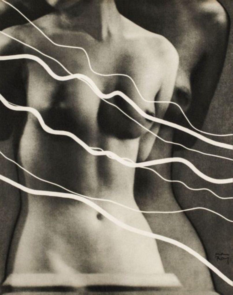 Électricité par Man Ray