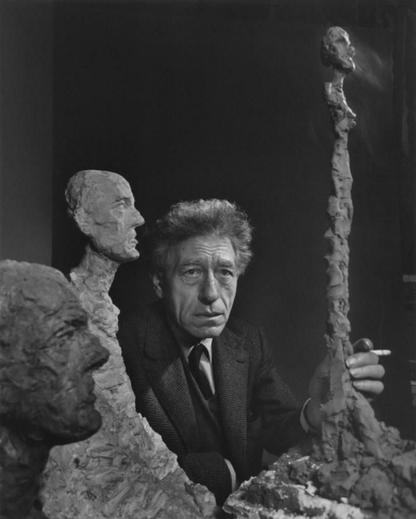 Alberto Giacometti par Yousuf Karsh