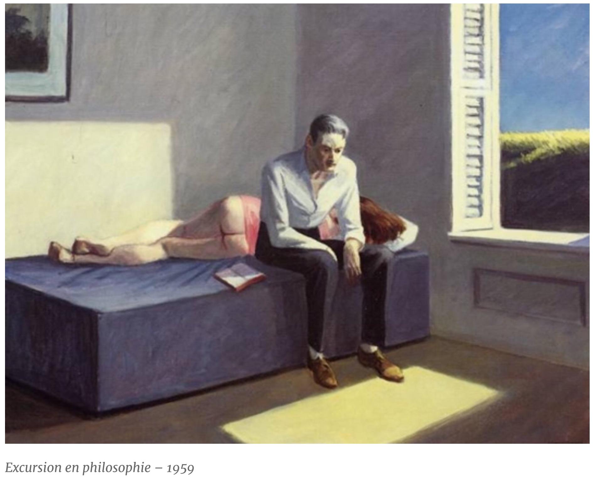 Read more about the article Kundera / Hopper : solitude à deux