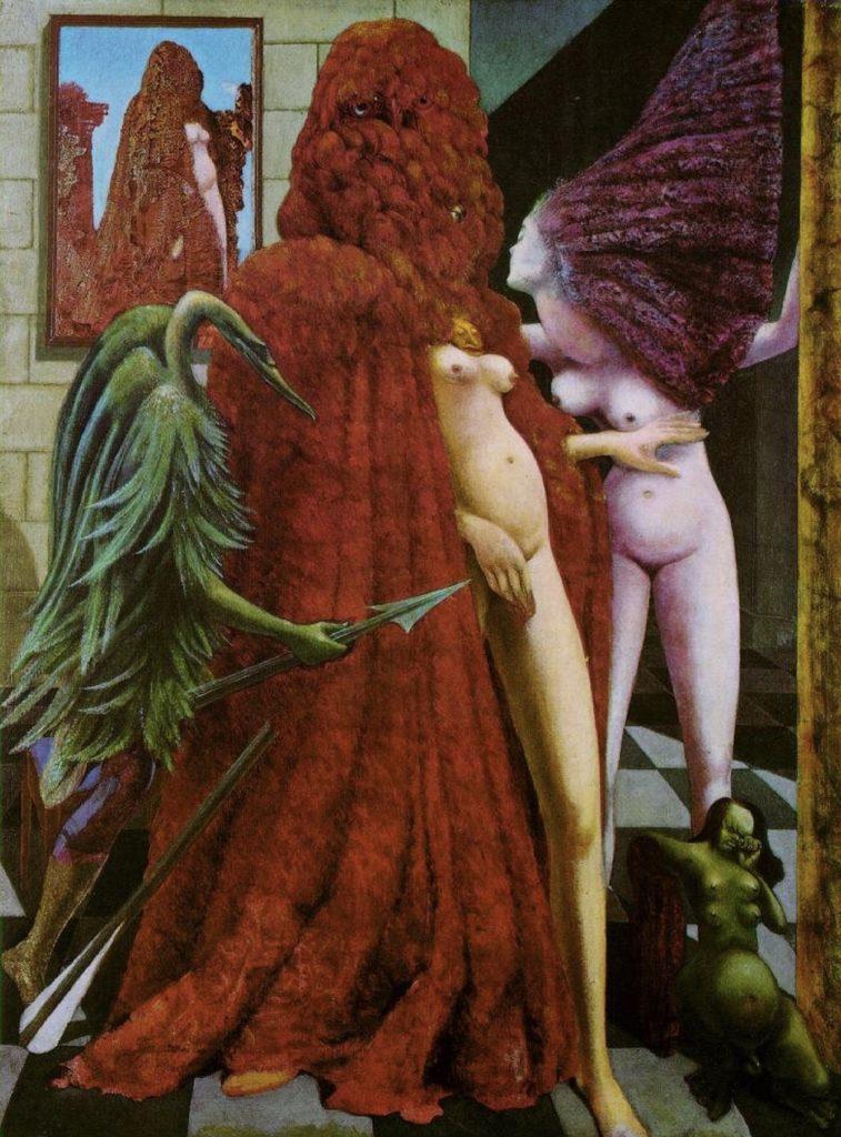 La toilette de la mariée par Max Ernst