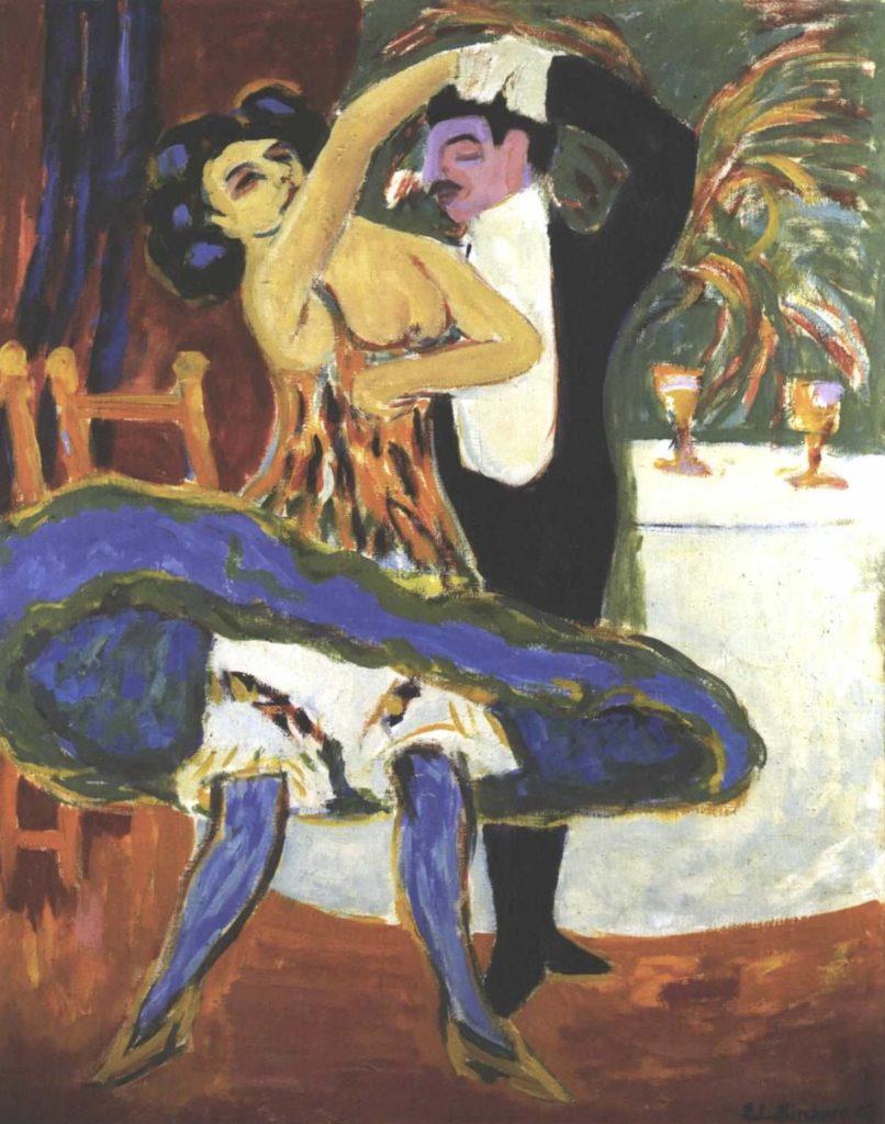 Couple anglais d'Ernst Ludwig Kirchner