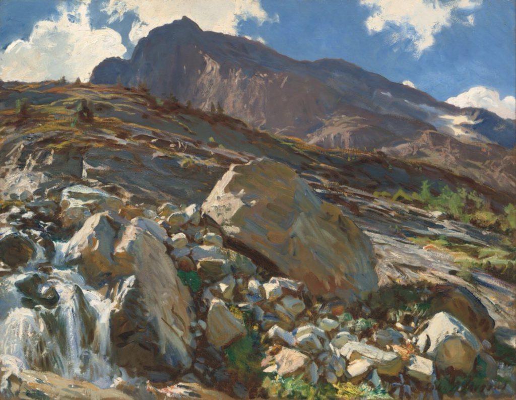 Col du Simplon de John Singer Sargent