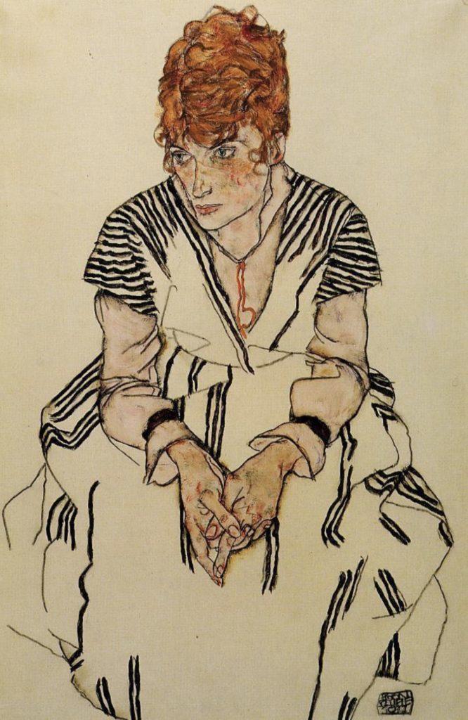 La belle-sœur de l'artiste d'Egon Schiele
