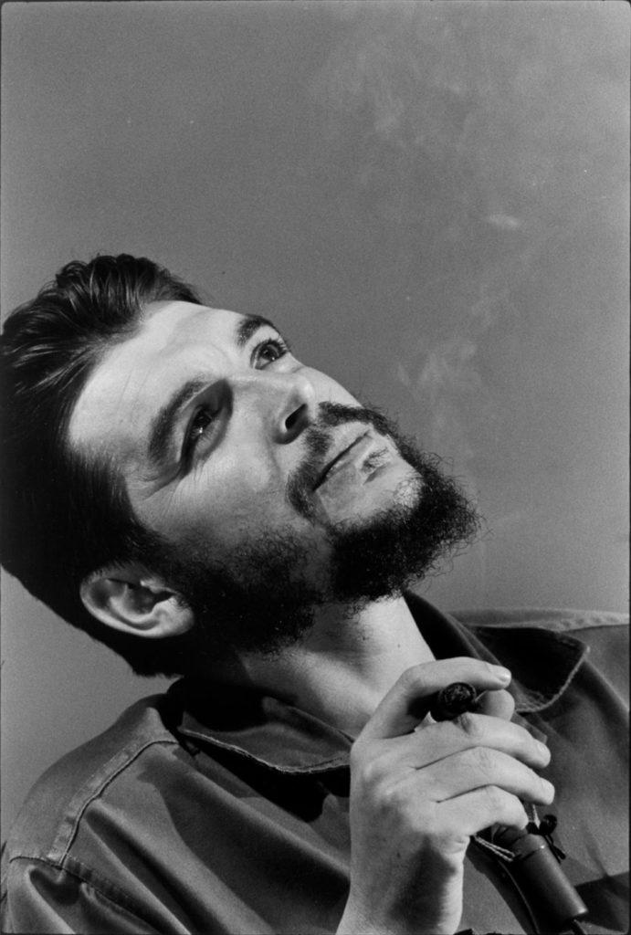 Portrait de Che Guevara par Elliott Erwitt