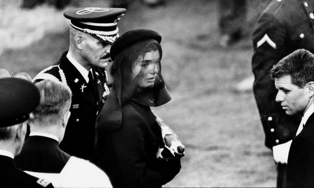 Jackie Kennedy par Elliott Erwitt