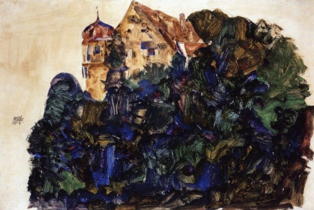 Château de Deuring, Bregenz par Egon Schiele