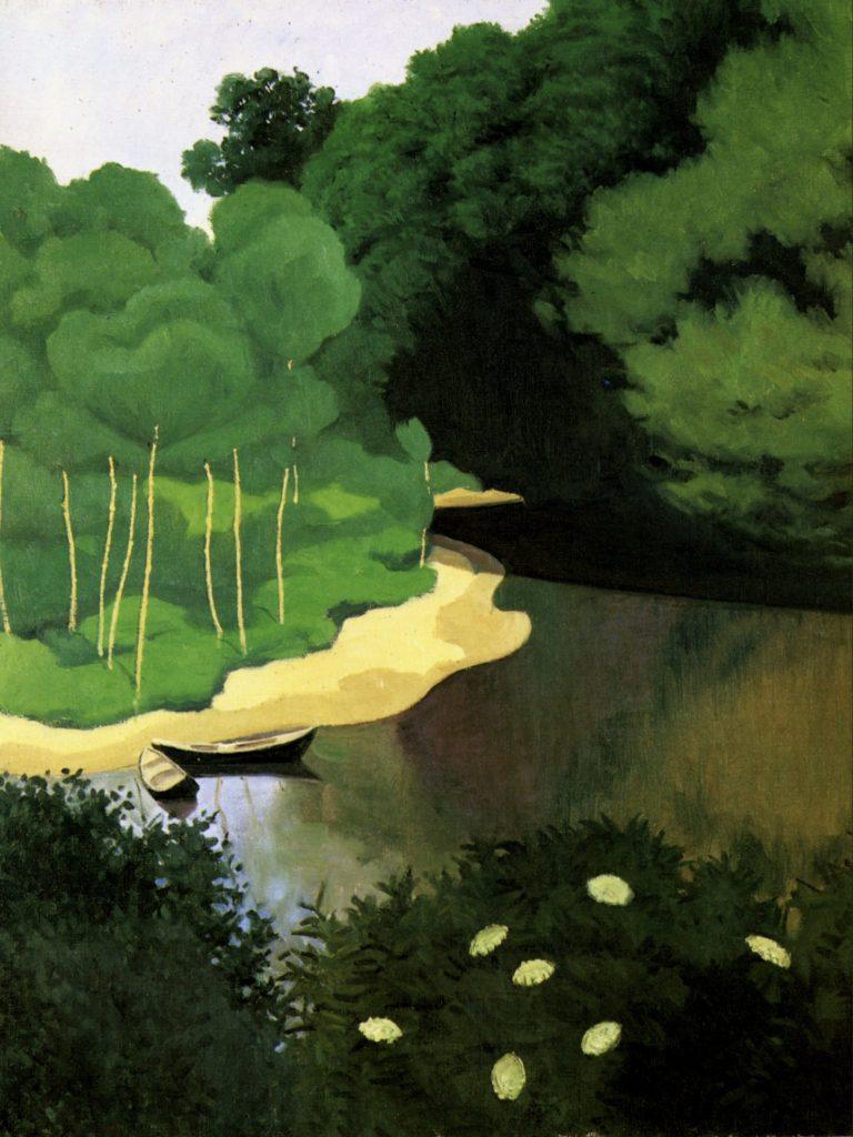 La Dordogne à Carennac par Félix Vallotton