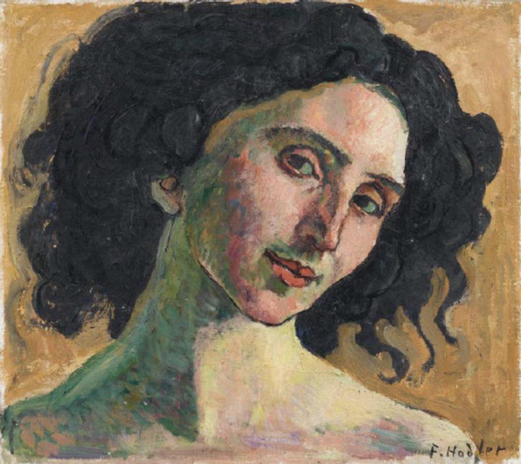 Portrait de Giulia Leonardi par Ferdinand Hodler