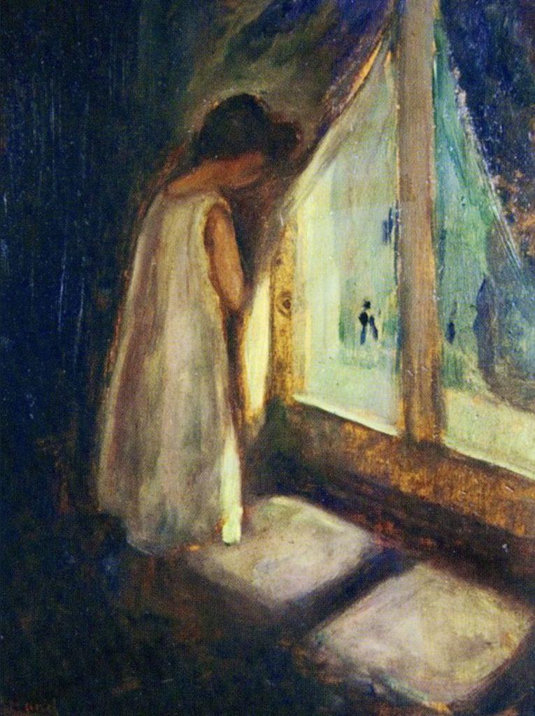 Edvard Munch, La fille près de la fenêtre
