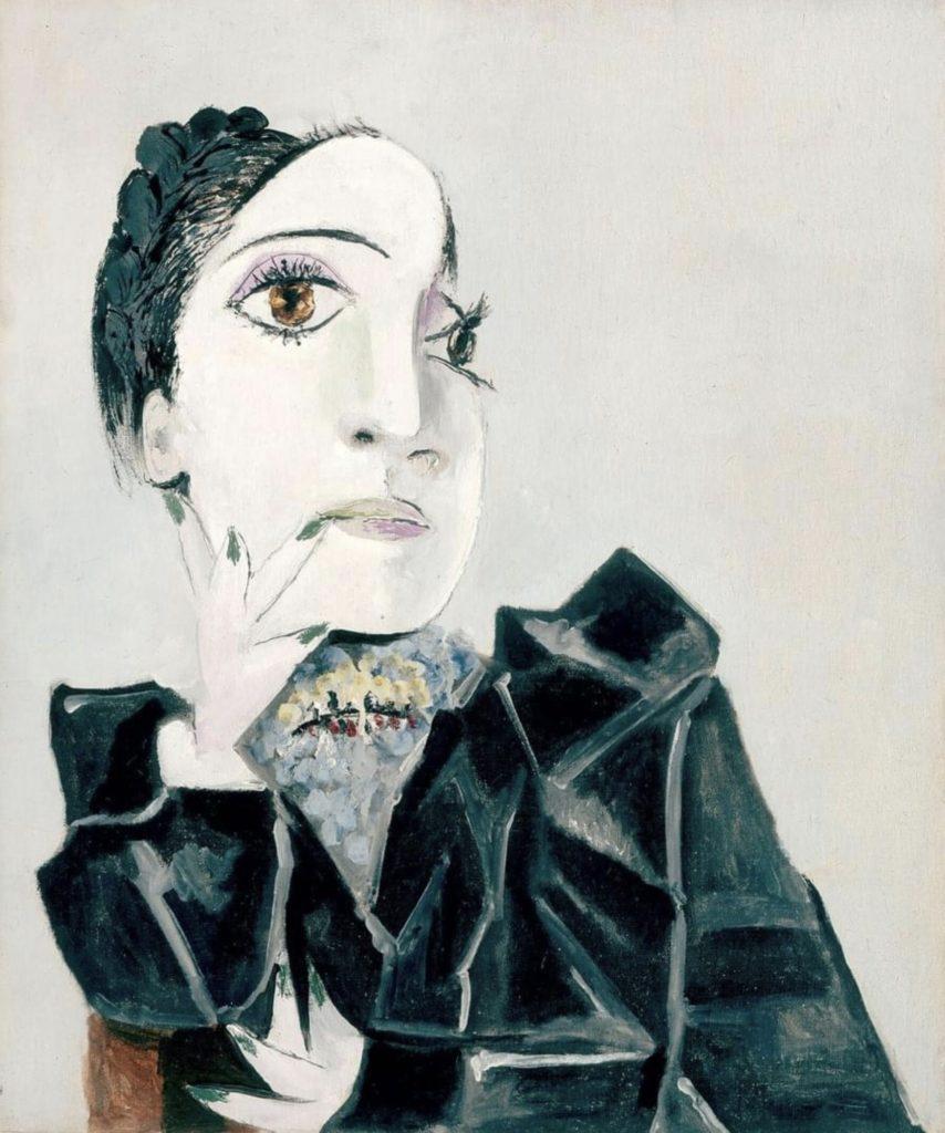 Dora Maar aux ongles verts par Picasso