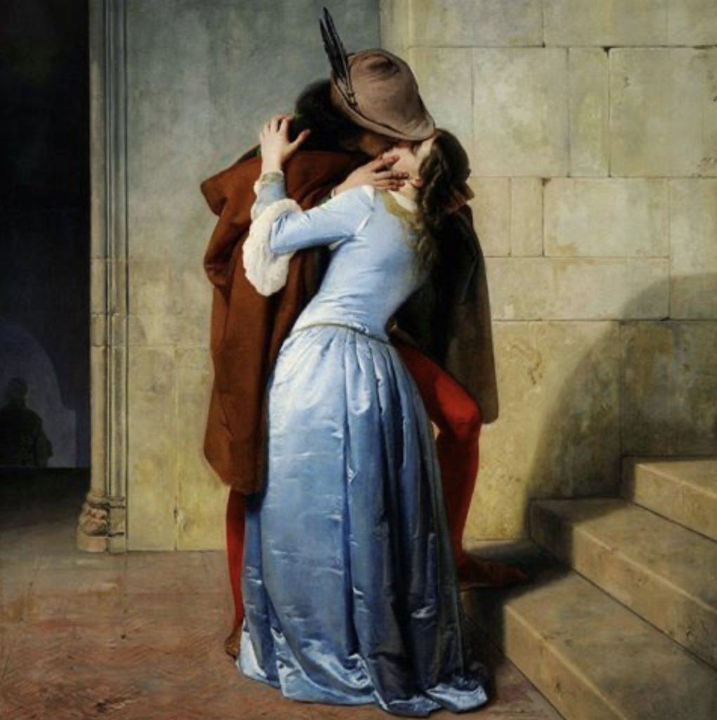 Le baiser par Francesco Hayez