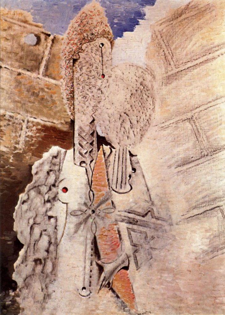 Deux jeunes nus de Max Ernst