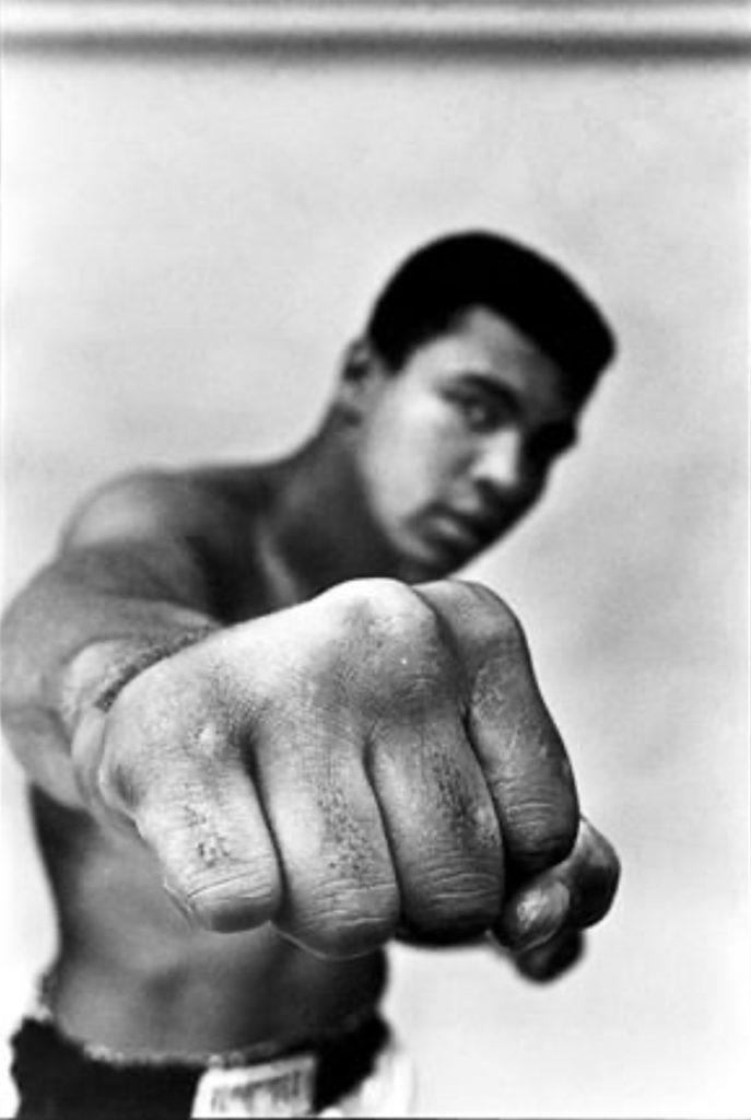 Muhammad Ali par Thomas Hoepker (Magnum Photos)