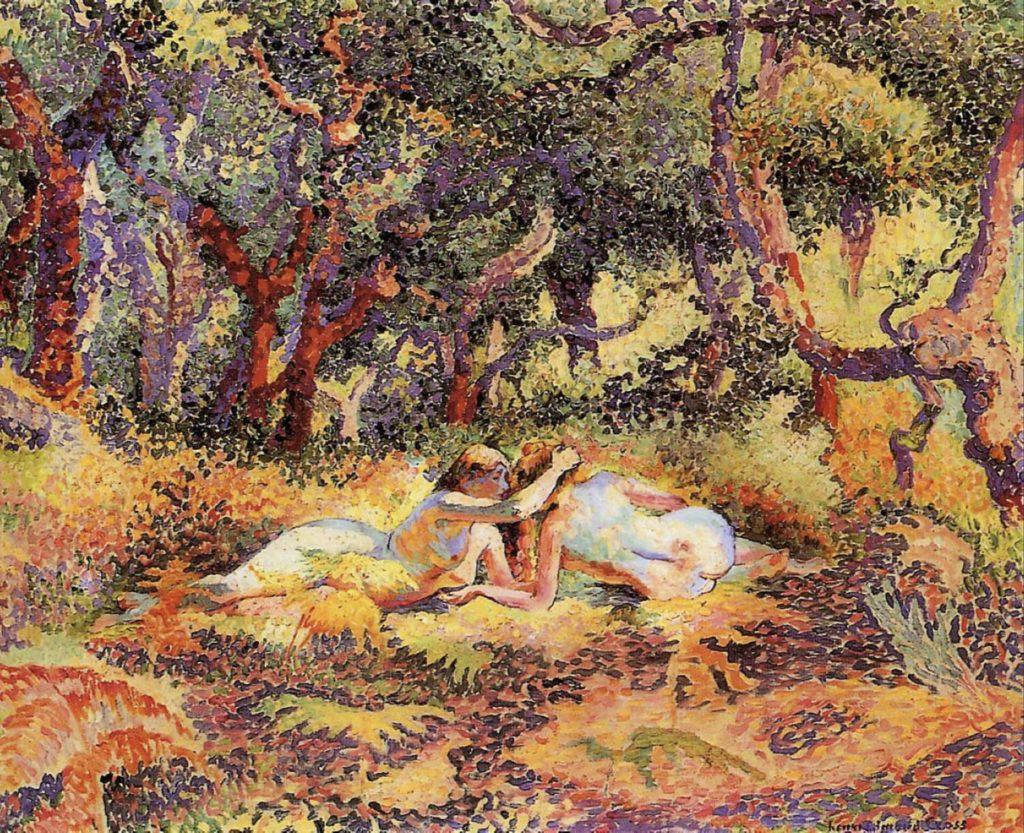 La forêt, d'Henri-Edmond Cross