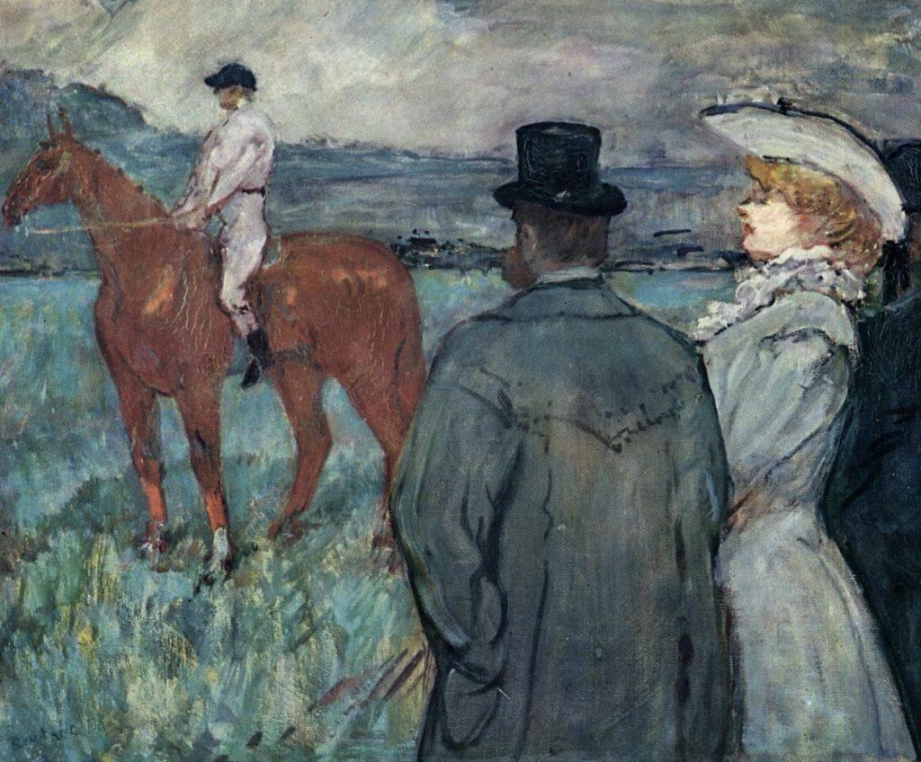 Aux courses de Toulouse-Lautrec