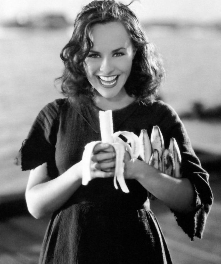 Paulette Goddard dans Les temps modernes de Chaplin