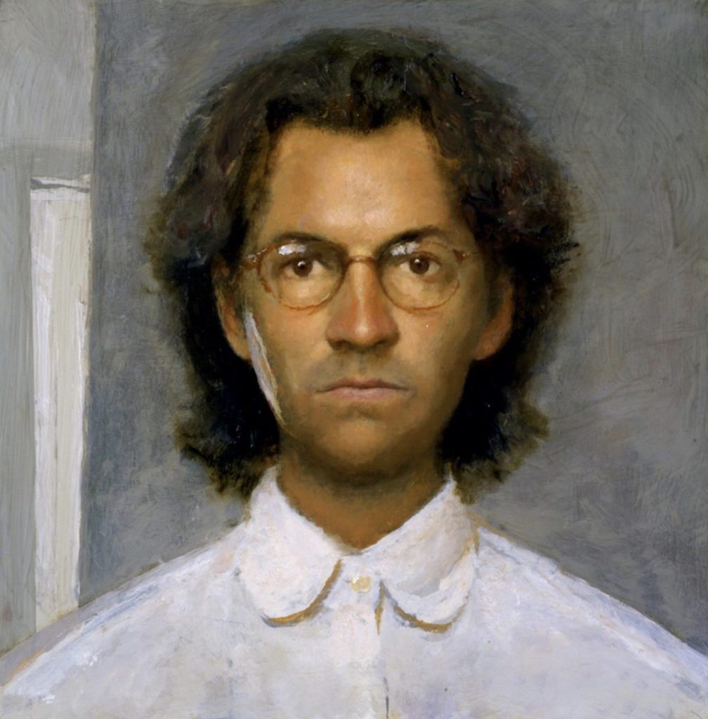 Self portrait de Bo Bartlett