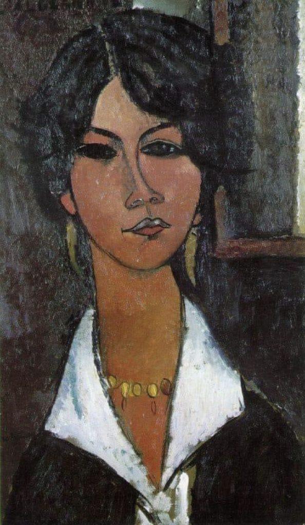 Femme d'Alger d'Amedeo Modigliani