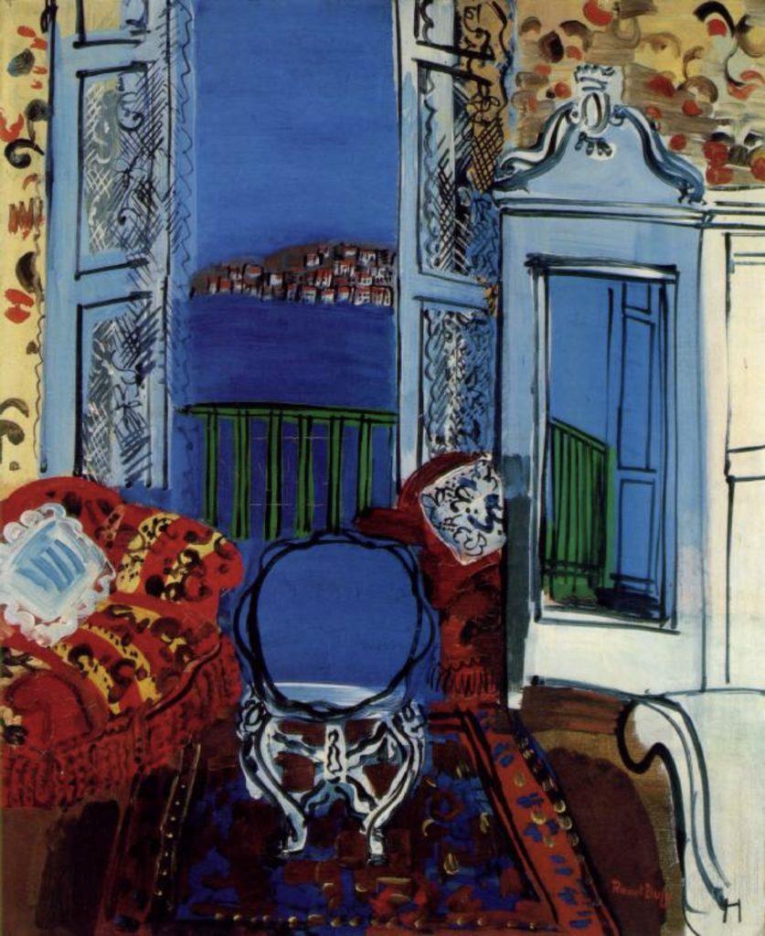Fenêtre ouverte de Raoul Dufy