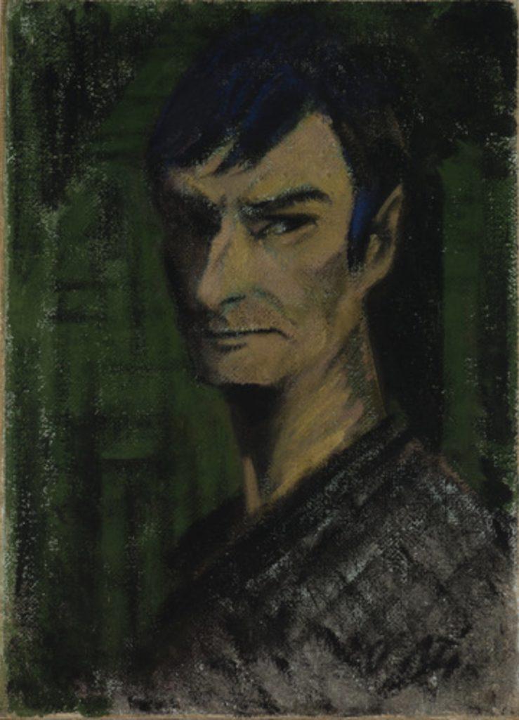 Autoportrait d'Otto Mueller