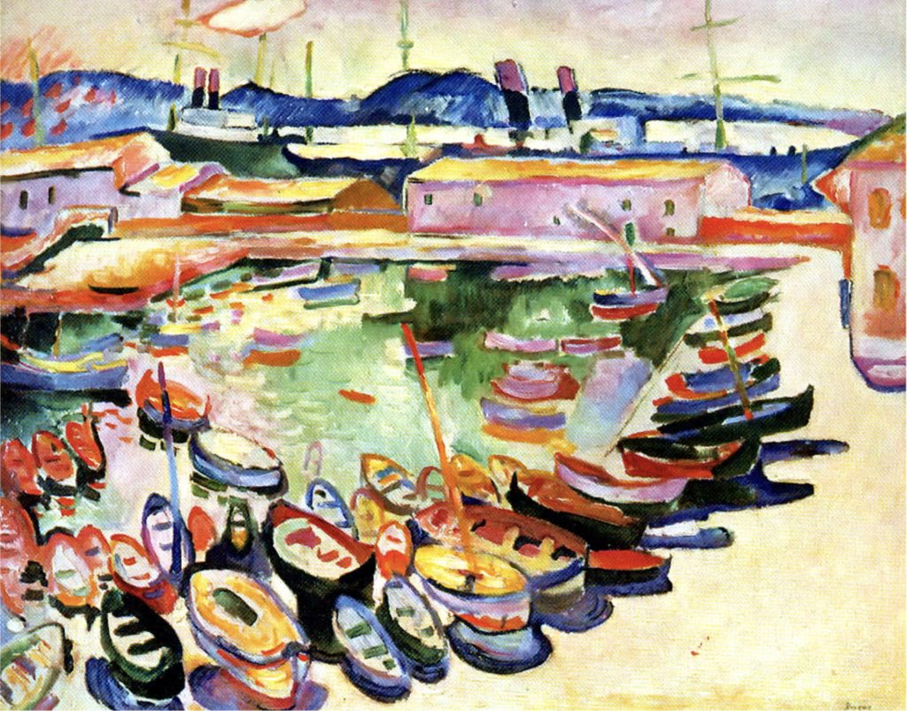 Port de La Ciotat par Georges Braque