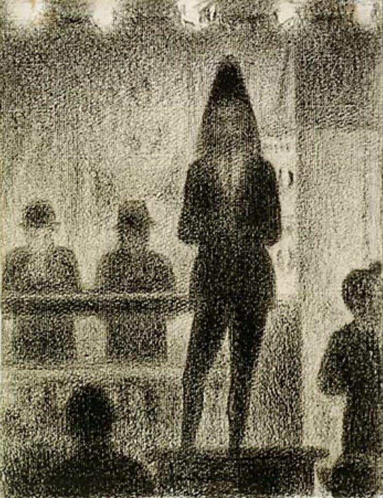 Joueur de trombone de Georges Seurat