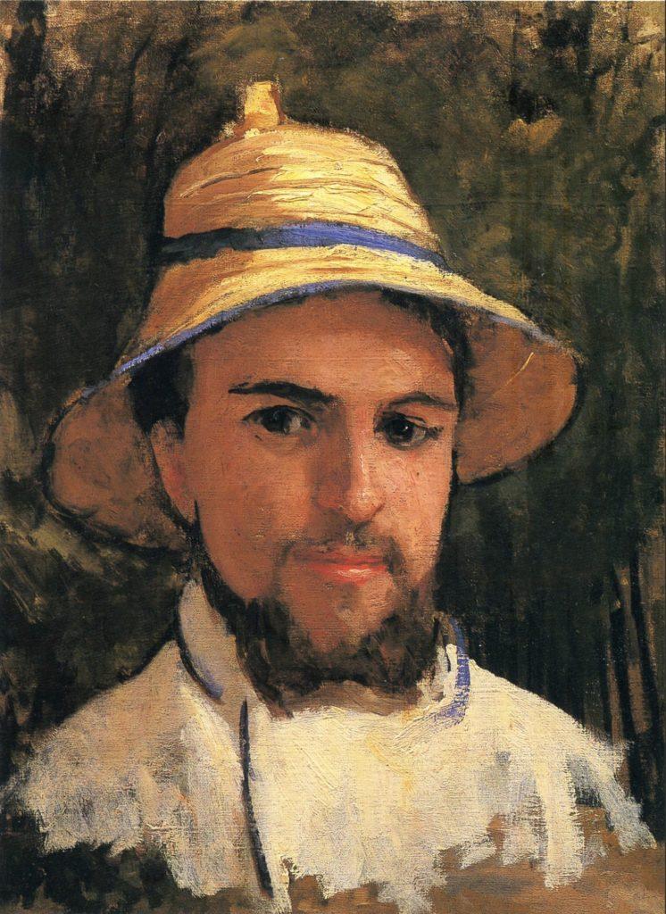 Autoportrait d'Alexandre Caillebotte