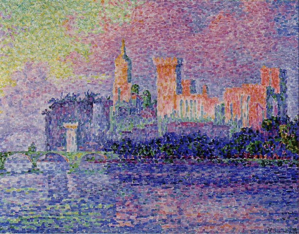 Palais des Papes, Avignon par Paul Signac