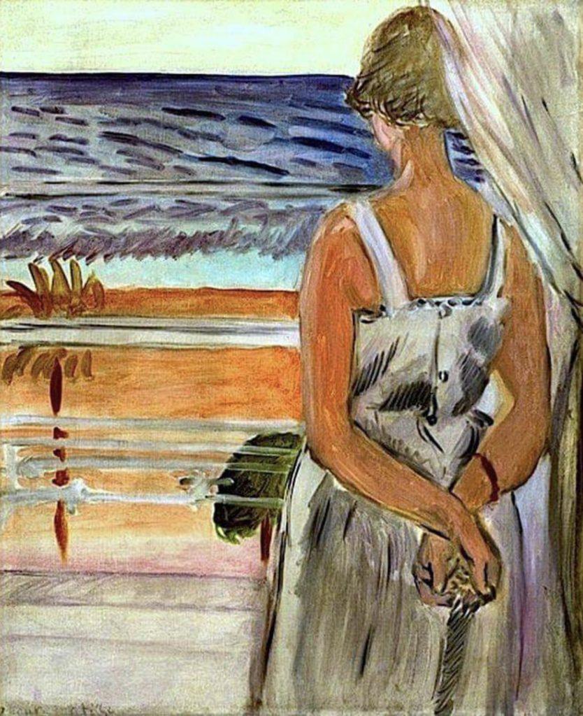 Derrière la fenêtre d'Henri Matisse