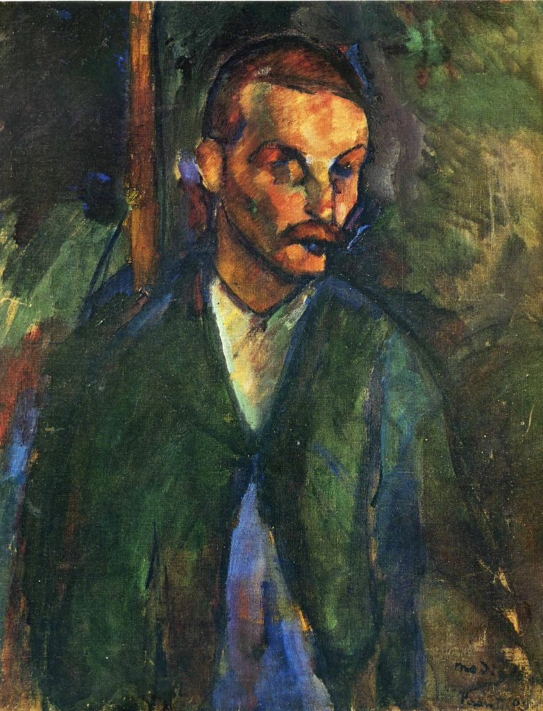 Le mendiant de Livourne de Modigliani