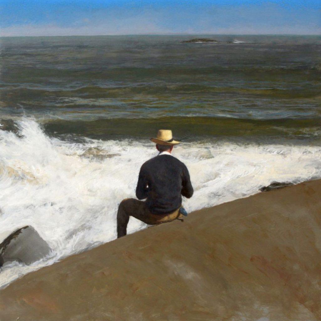 The watercolorist de Bo Bartlett