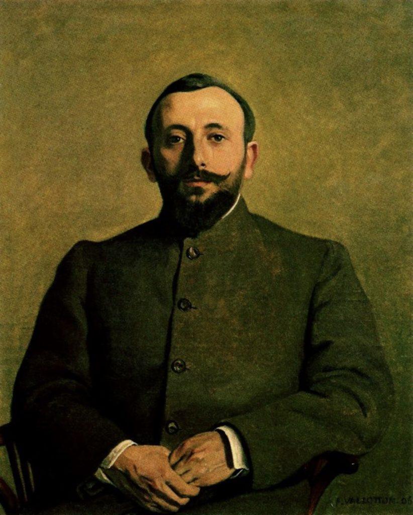 Portrait d'Alfred Athis par Félix Vallotton