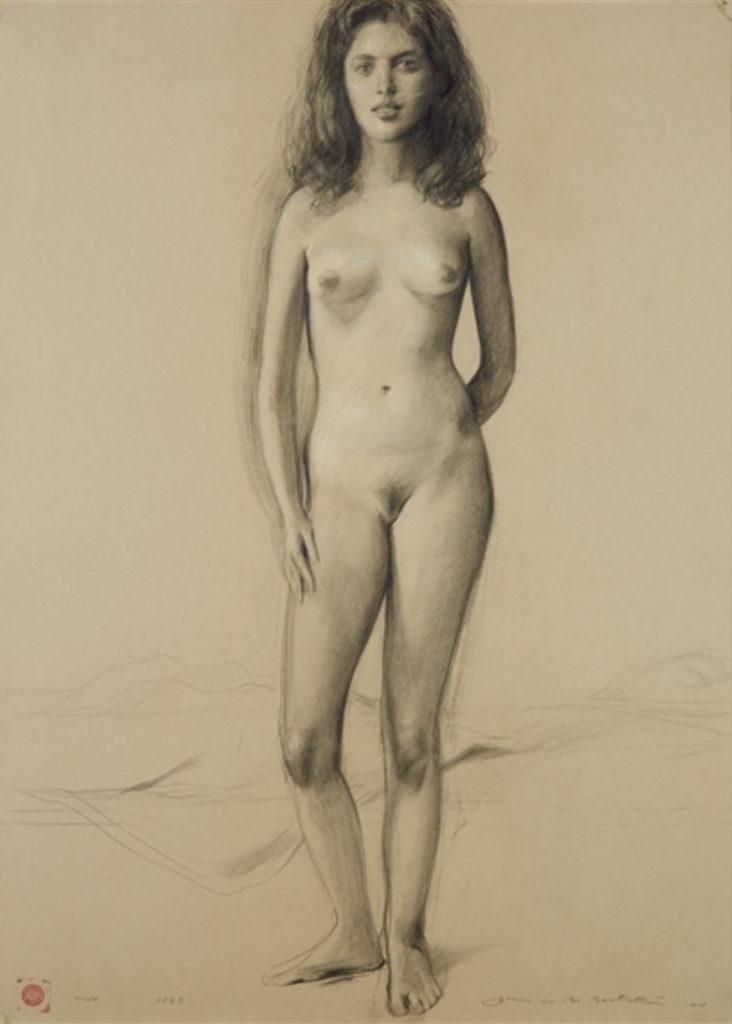 Nude by bo Bartlett
