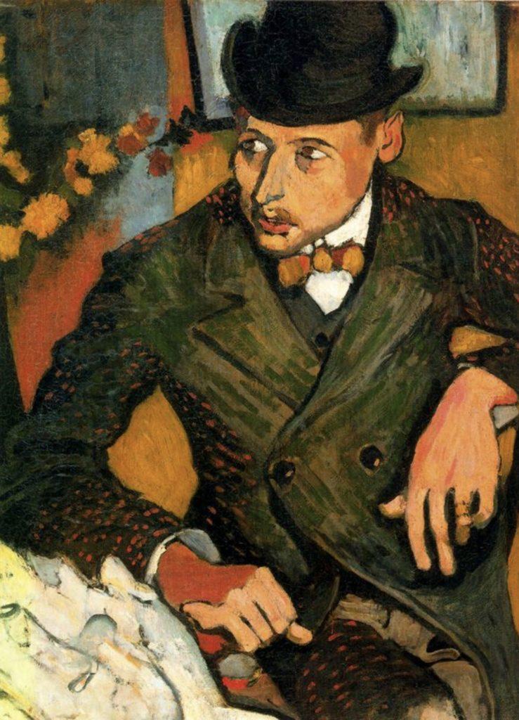 Portrait de Lucien Gilbert par André Derain