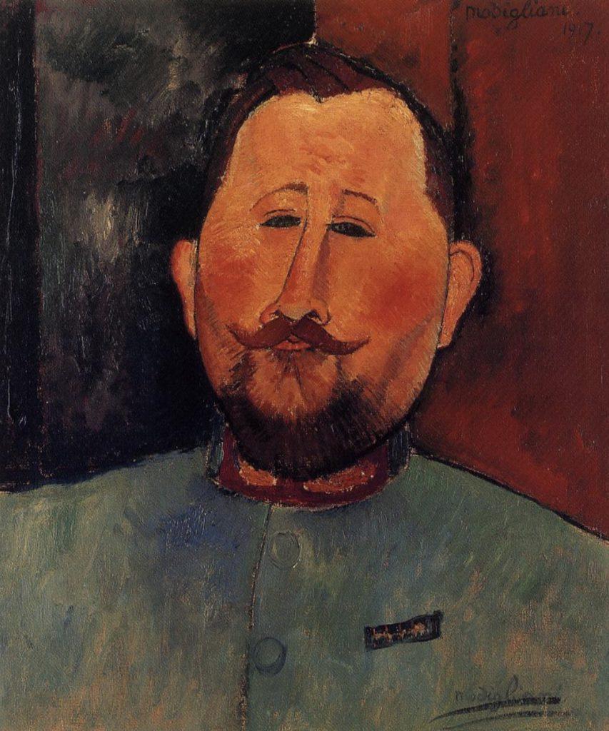 Portrait du Docteur Devaraigne  par Amedeo Modigliani