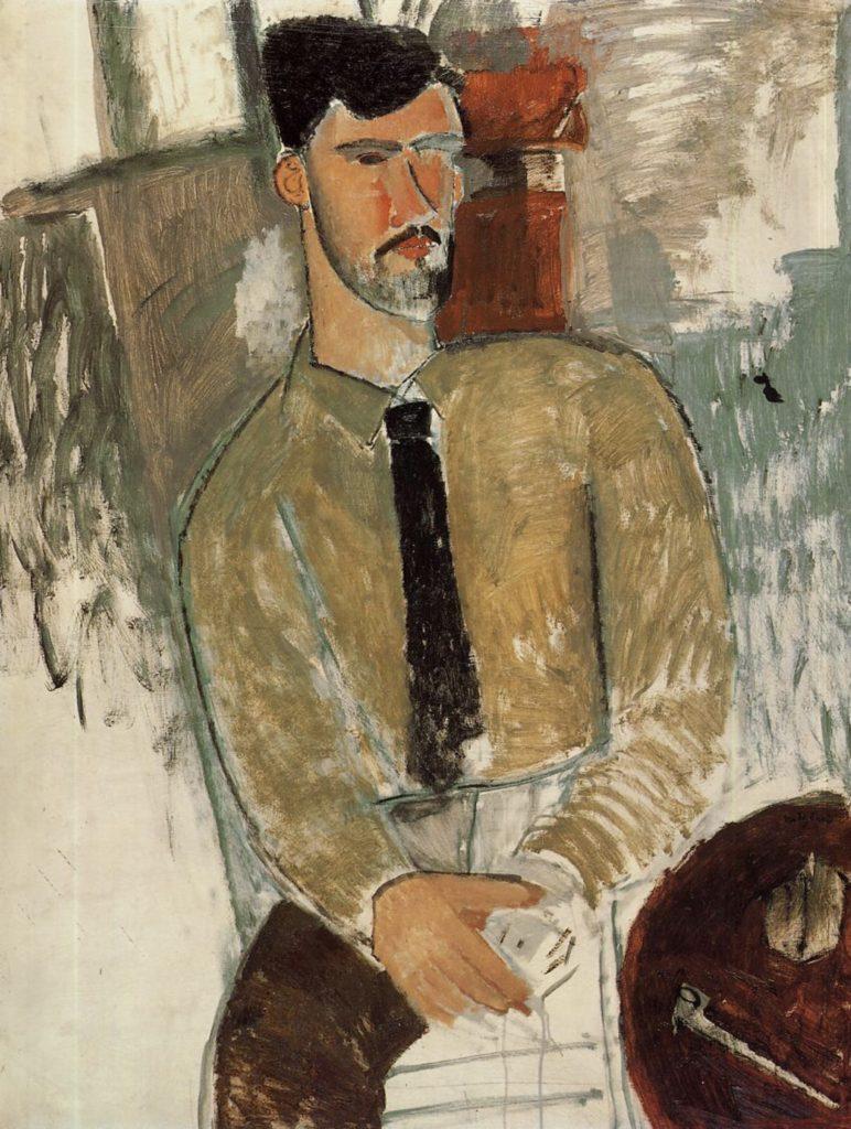 Portrait d'Henri Laurens par Modigliani