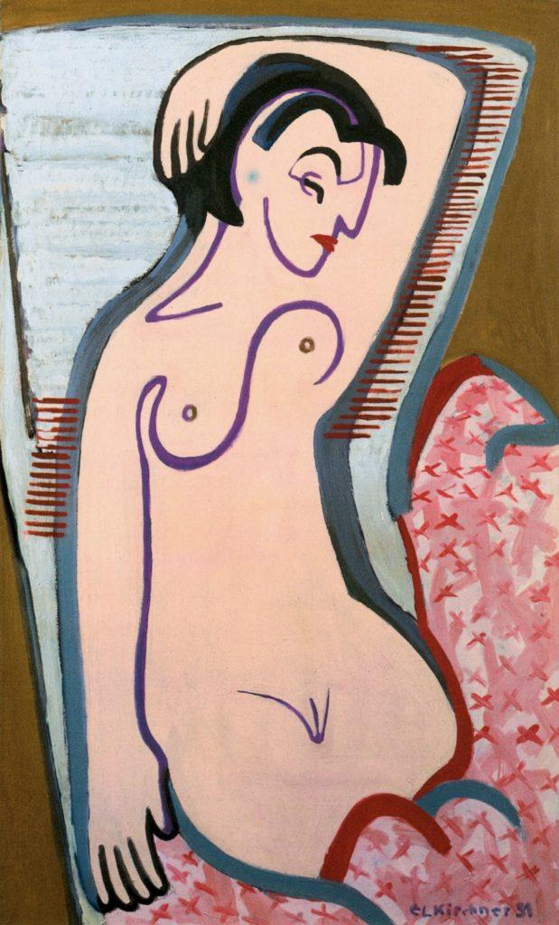 Nu féminin d'Ernst Ludwig Kirchner