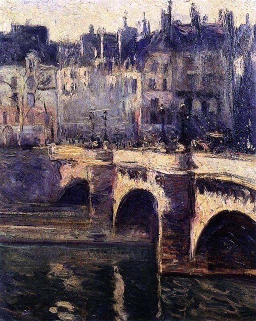 Le Pont Neuf, Paris d'Othon Friesz