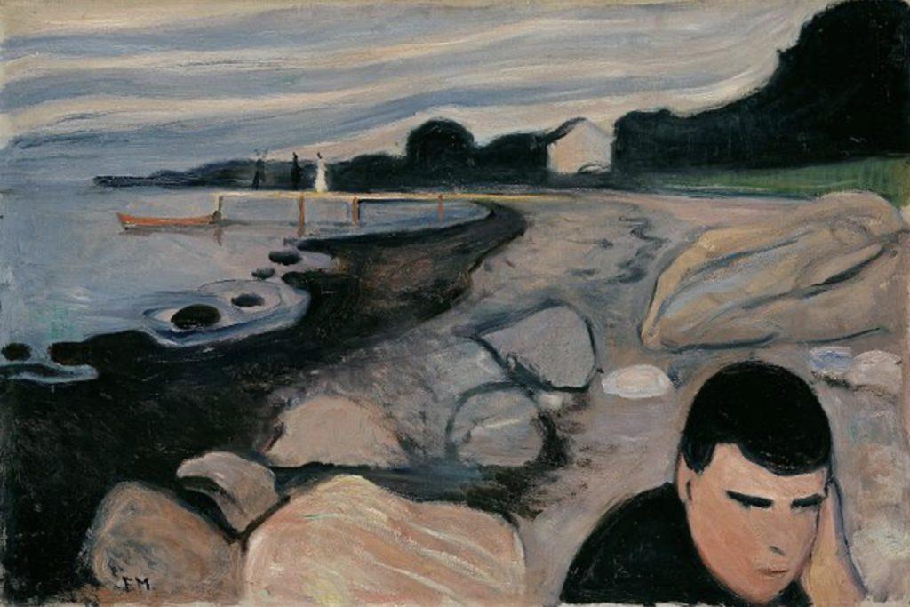 Mélancolie d'Edvard Munch