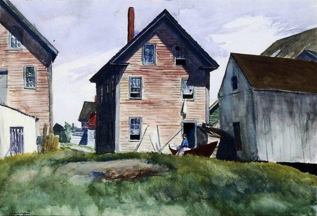 Manoir de Gloucester d'Edward Hopper