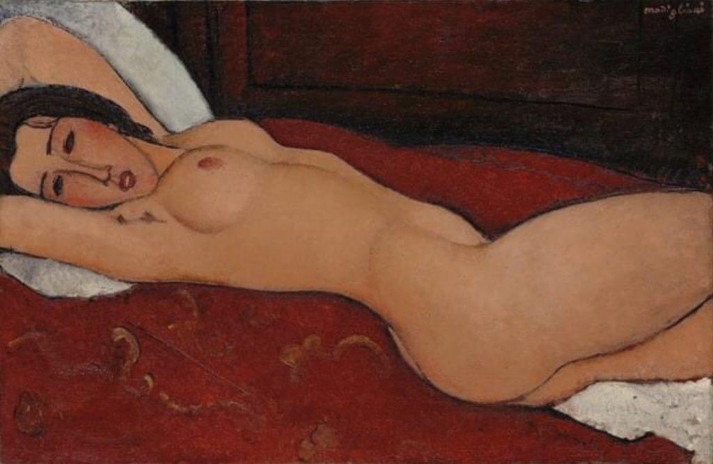 Nu allongé d'Amedeo Modigliani