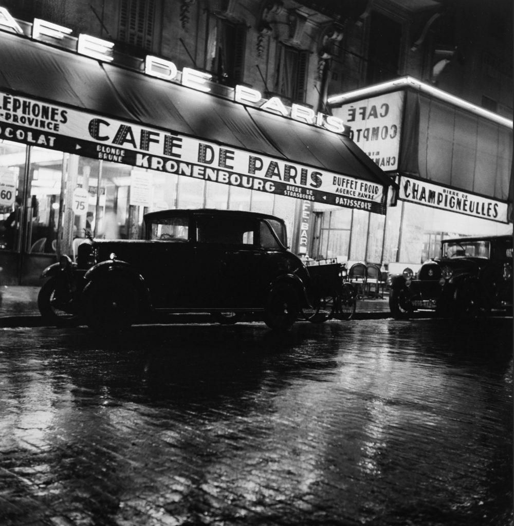 Le café de Paris par Roger Schall
