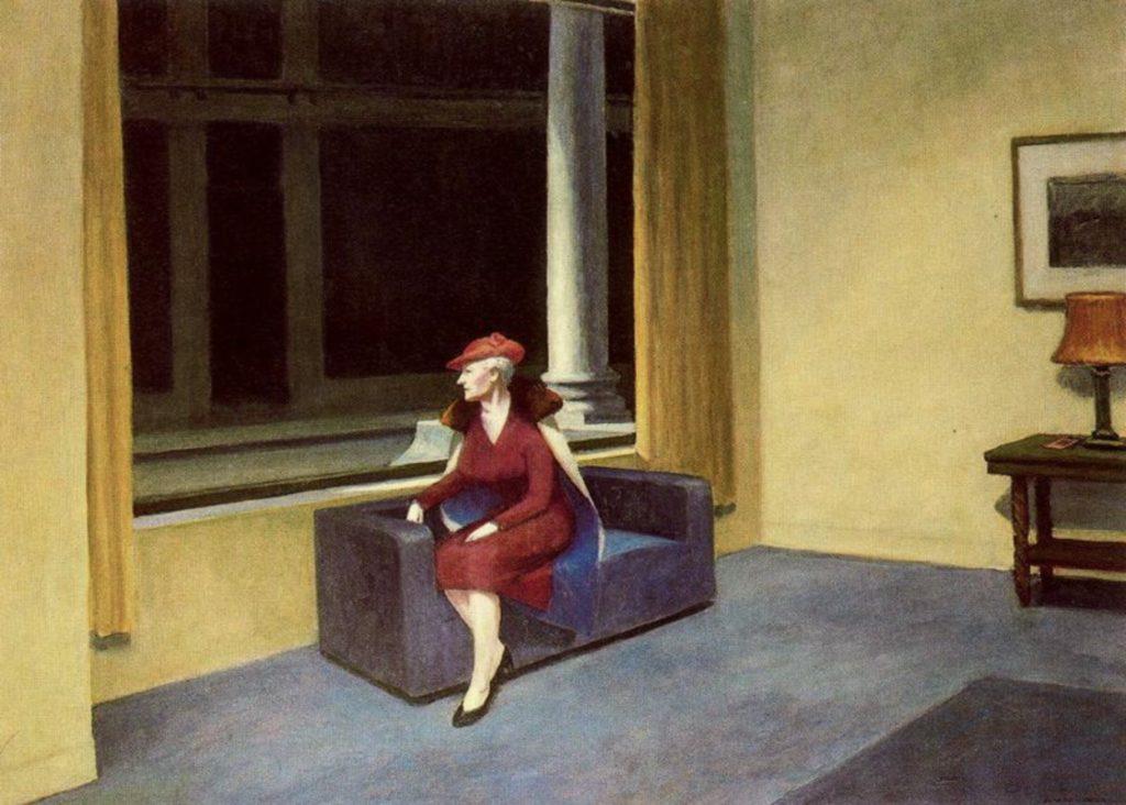 Hotel window d'Edward Hopper