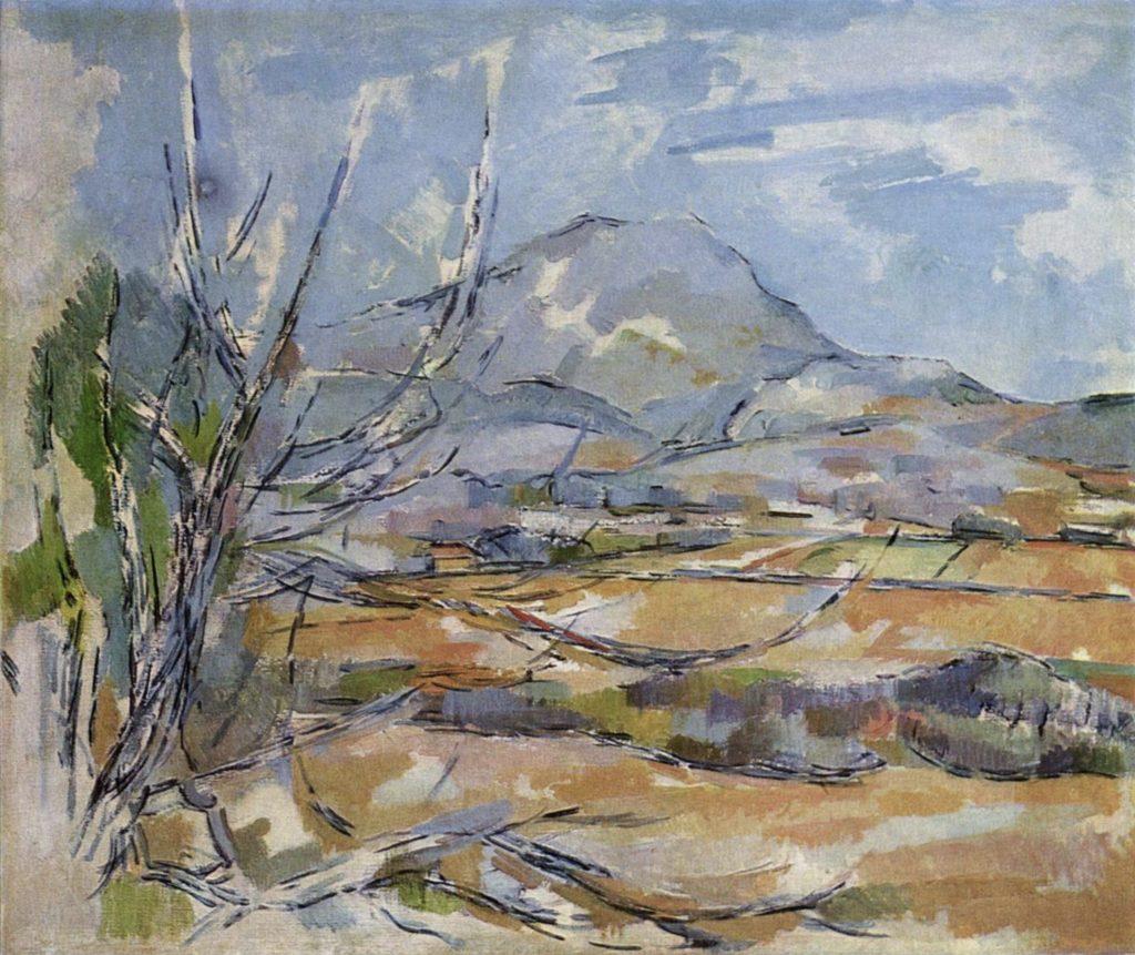 Montagne Sainte-Victoire de Paul Cézanne