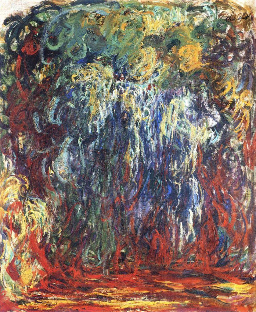 Saule pleureur, Giverny de Claude Monet