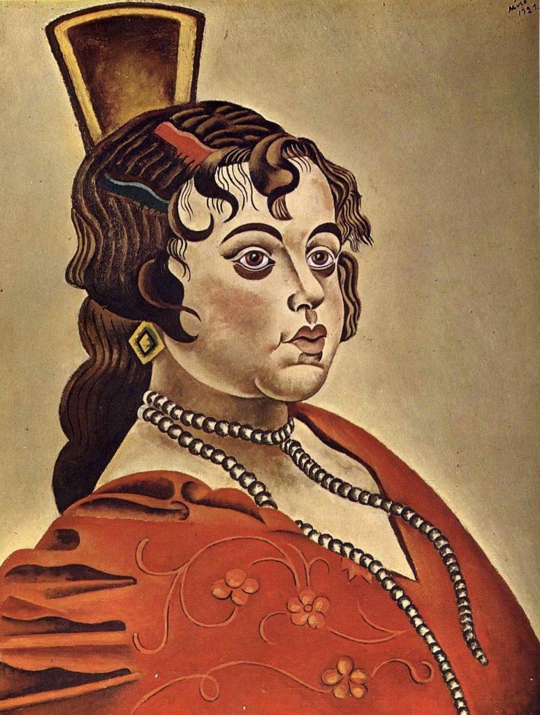 Danseuse espagnole de Joan Miro