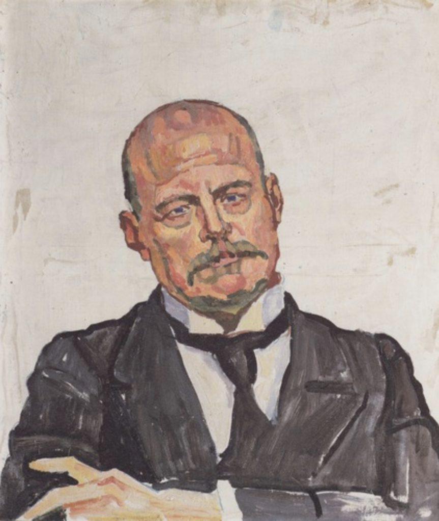 Portrait de Georges Navazza par Ferdinand Hodler