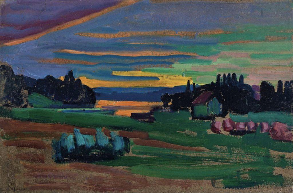 Crépuscule de Gabrielle Münter