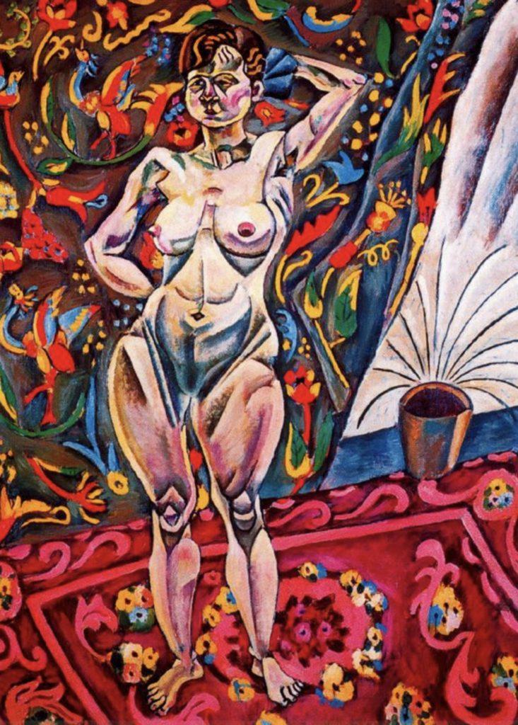 Nu debout de Joan Miro