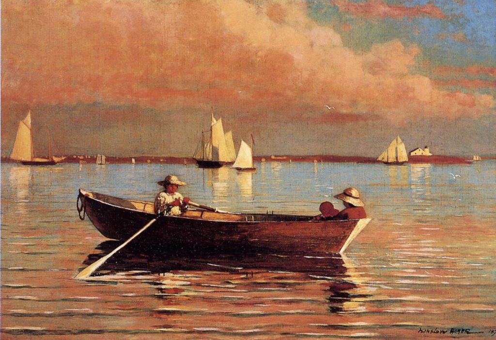 Gloucester Harbor Winslow Homer
